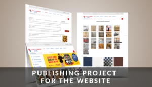 Publishing Project For The Website