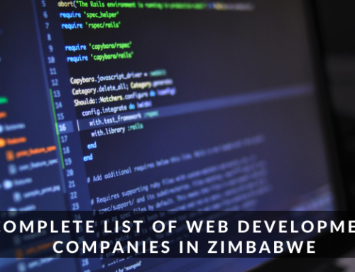 Complete List of Web Development Companies in Zimbabwe