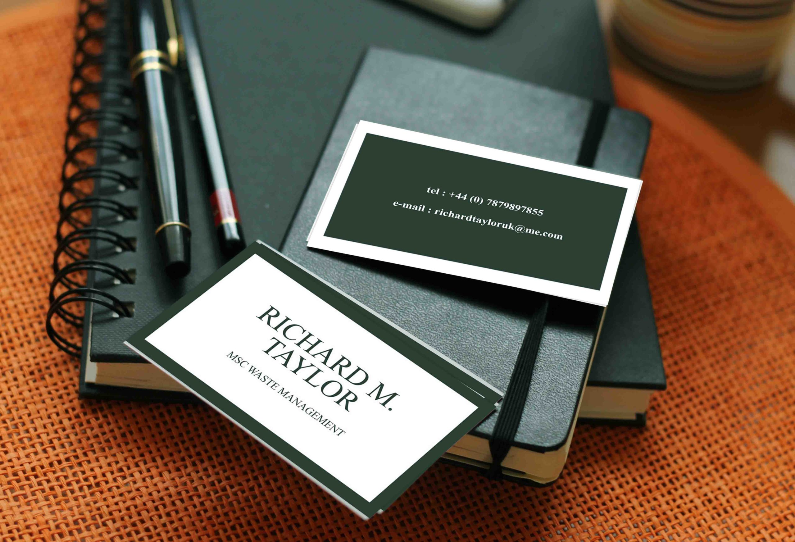 100 Business Cards Printing Double Side